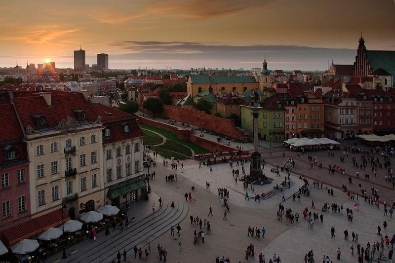 Old town Warsaw image