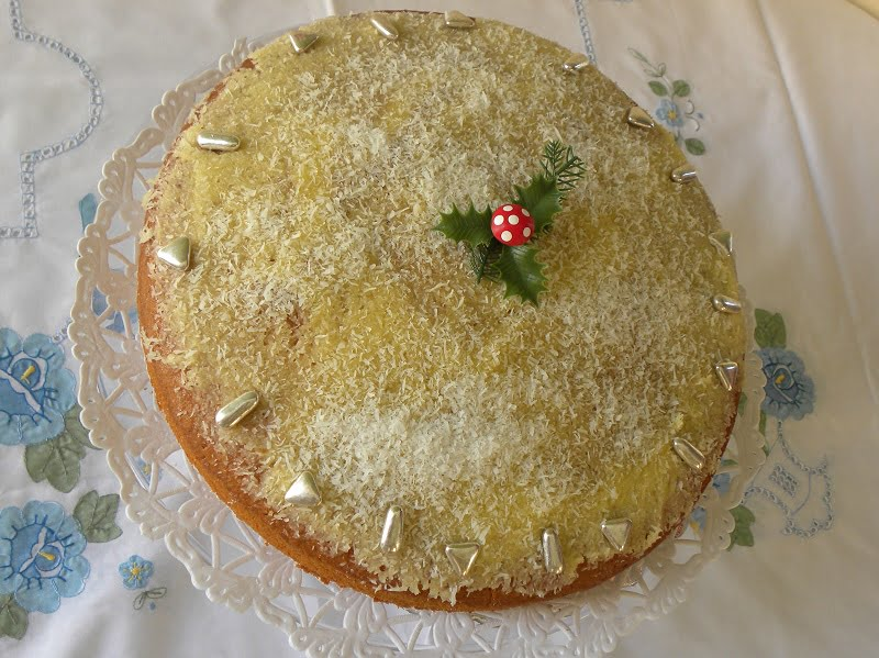 Vassilopita new year's cake image