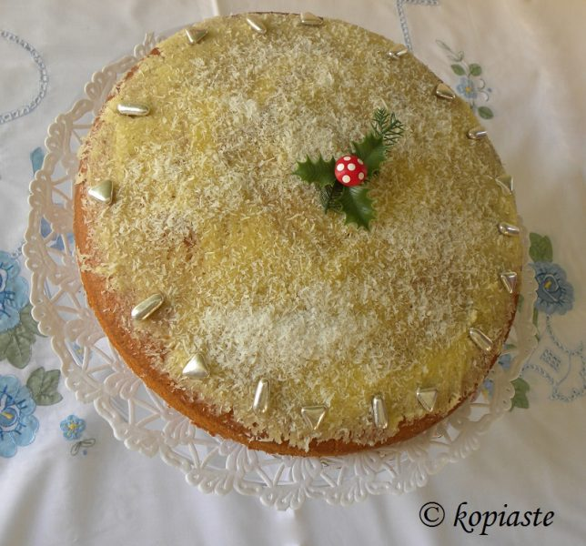 lemon buttercream vassilopita