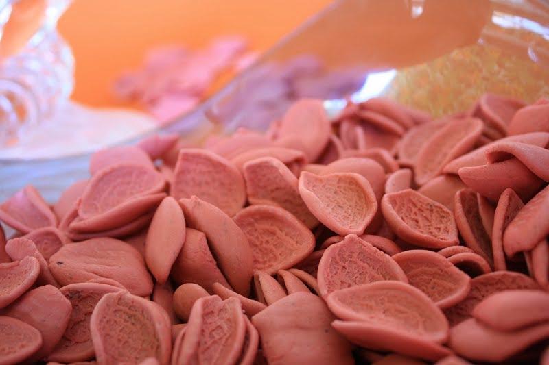 red pasta for moschari kokkinisto image