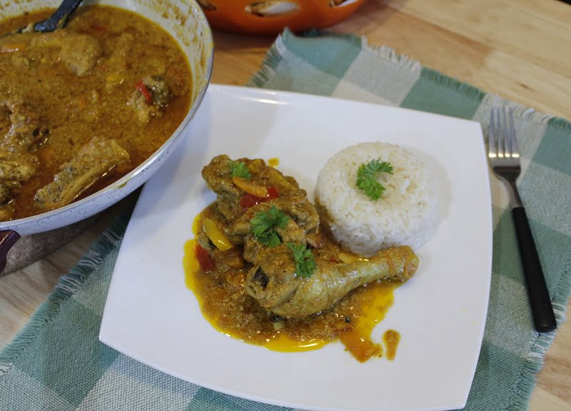 Chicken curry photo