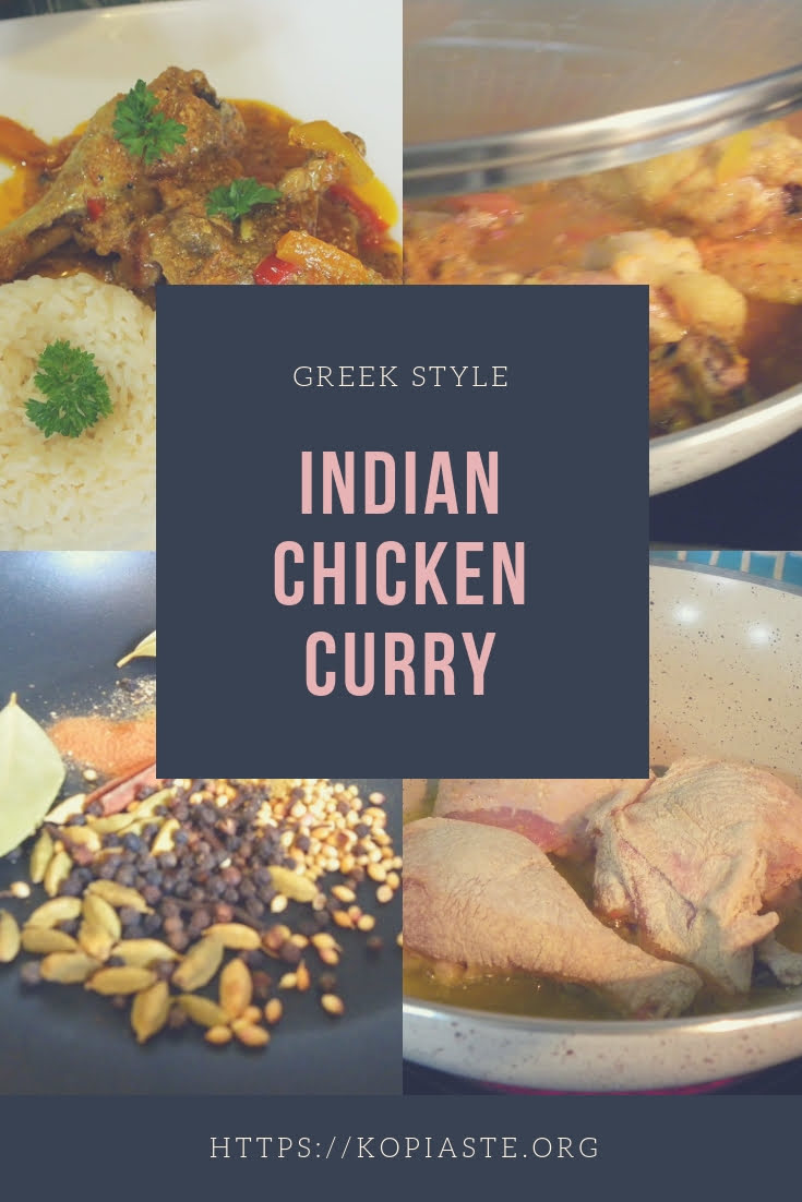 collage Chicken curry image