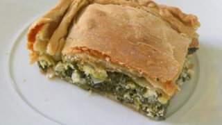 Vegan Spanakopita and Whole Wheat Homemade Spanakopita Strifti