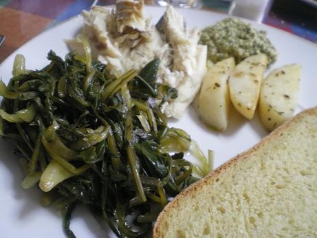 ... Roasted Potatoes and Greek style Oregano Pesto - Kopiaste..to Greek