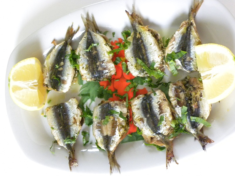 Grilled Sandwiched Sardines image