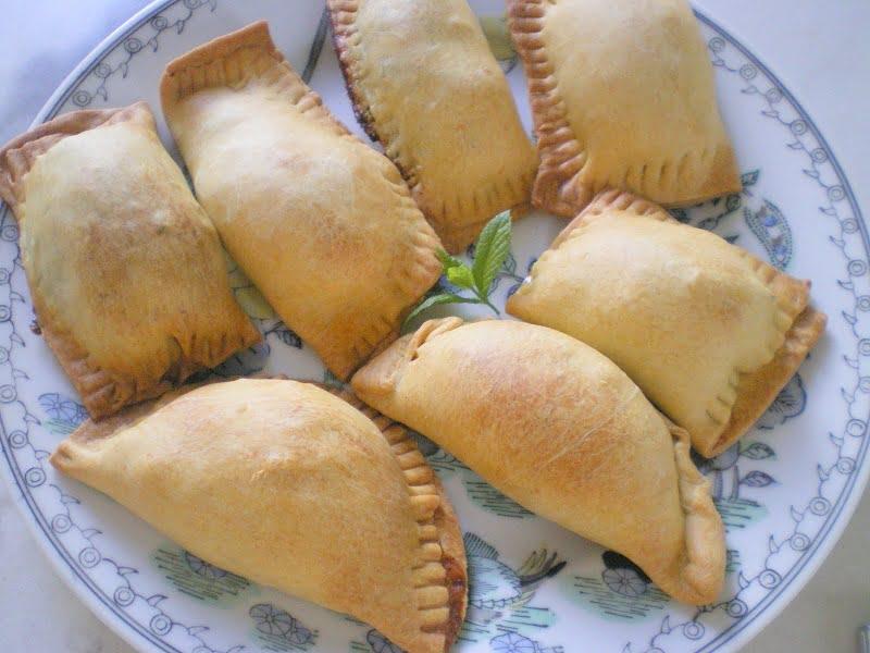 marathopitakia cheese and fennel turnovers image