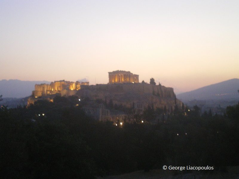 The Acropolis by George Liacopoulos image