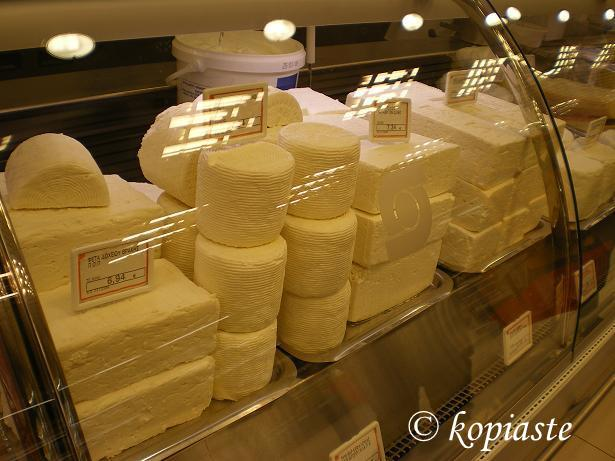 Greek cheeses photo