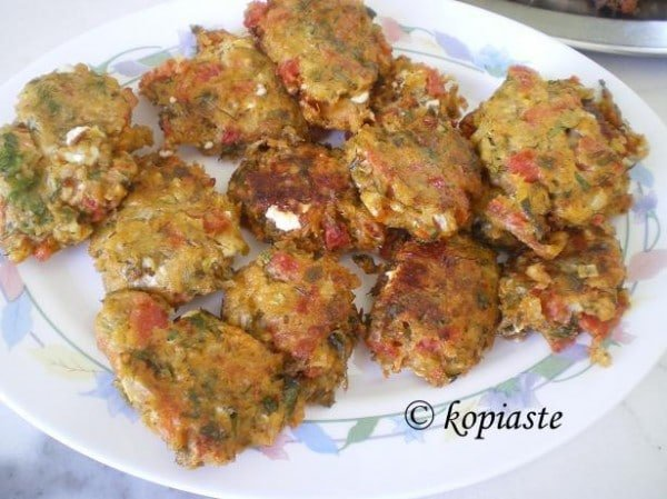 roasted red pepper and feta fritters greek feta dip greek feta burger ...