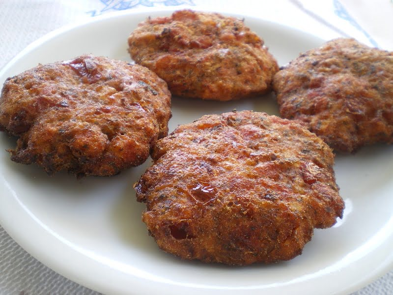 ntomatokeftedes tomato patties picture