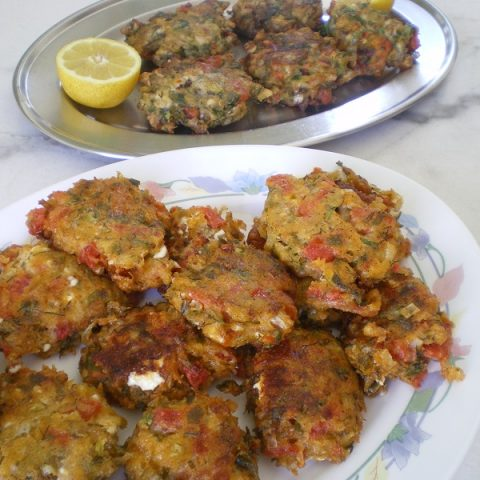 tomato fritters image