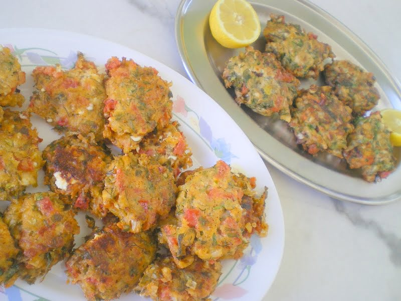 tomato fritters picture