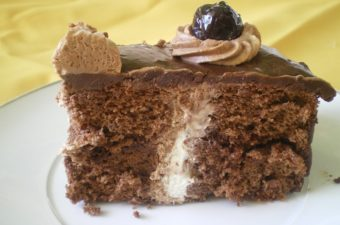 Bailey's flavoured chocolate cake image