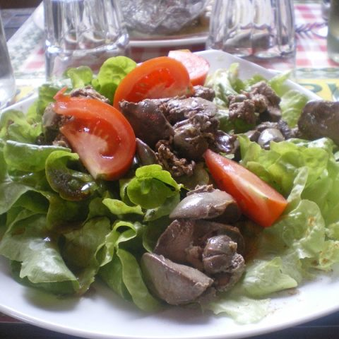 Chicken livers at Grenoble image