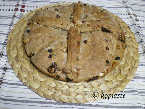 Christopsomo with a twist – Christ's Bread