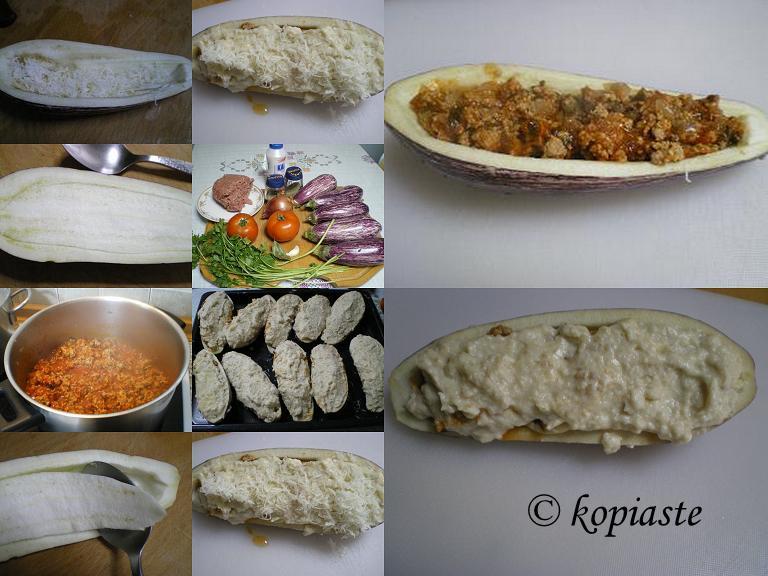 Melitzanes Papoutsakia (Stuffed Eggplants) - Kopiaste..to Greek ...