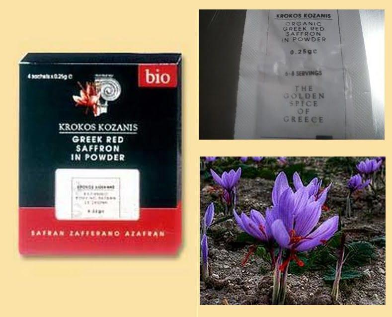 collage Greek saffron image