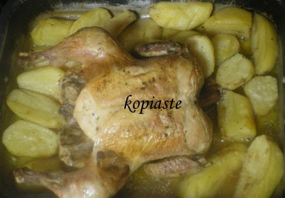 Kotopoulo Psito sto Fourno (Greek Roasted Chicken)