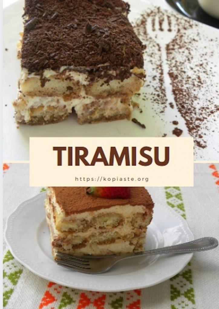 Collage Tiramisu photo