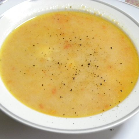 Trahanas soup with pepper image