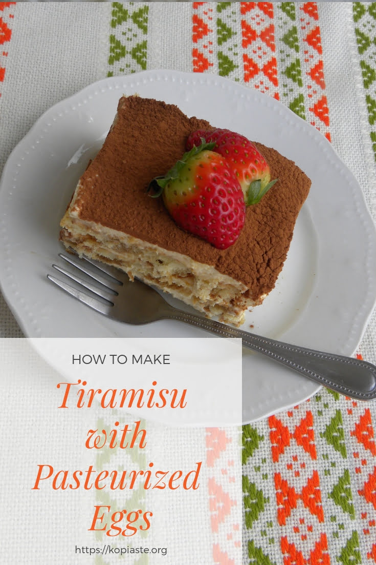 collage Tiramisu with Pasteurized Eggs image