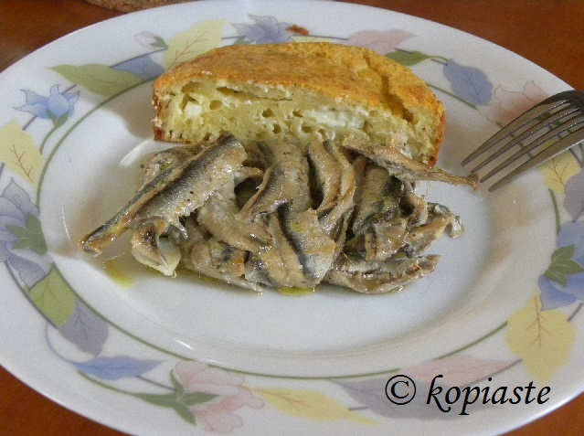 Gavros: Gavros Ladorigani (Baked Anchovies With Oregano) And