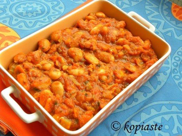 Dutch Oven Crock Pot Gigantes Plaki sto Fourno (Baked Giant Beans) - Kopiaste..to Greek ...