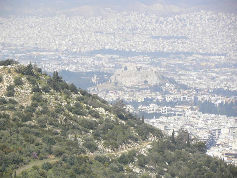 Athens view of the Acropolis 3