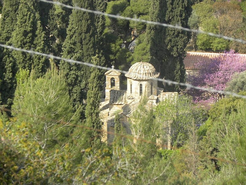 The Byzantine monastery of Kessariani