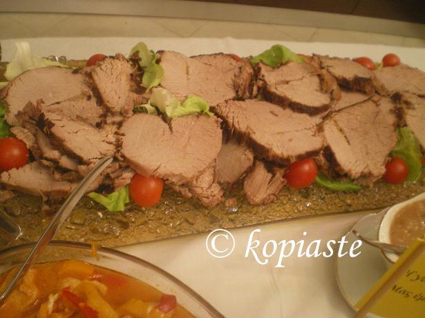 Rosto roast beef image