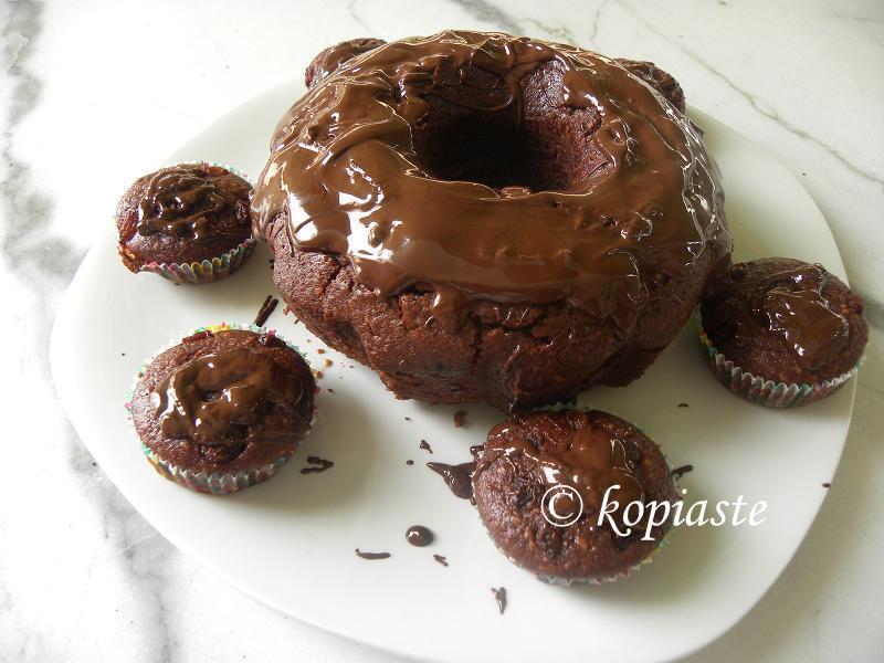 Very Easy Vegan Chocolate-Orange Cake and Muffins - Kopiaste..to Greek ...