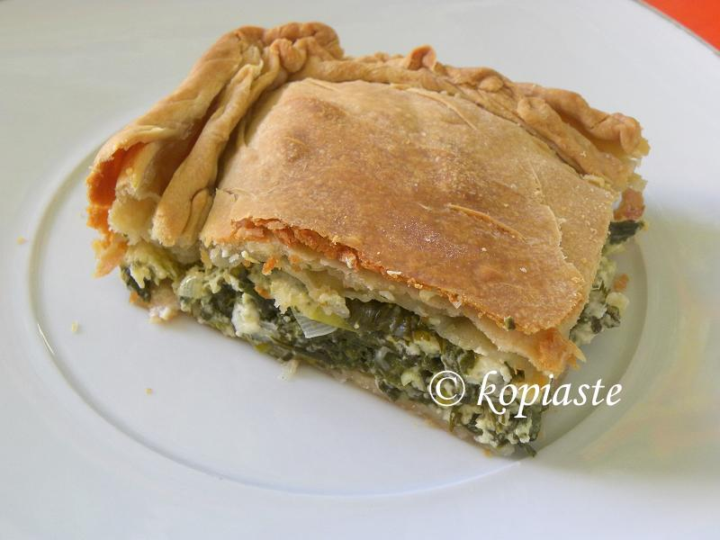 Homemade Spanakopita from Scratch - Kopiaste..to Greek ...