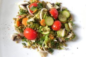 Lentils salad picture