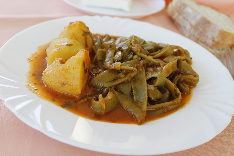 Stewed Green beans image