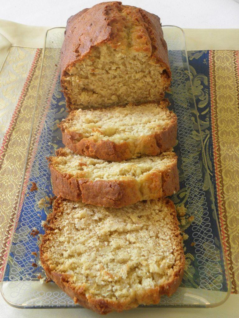 Banana tahini almond bread image