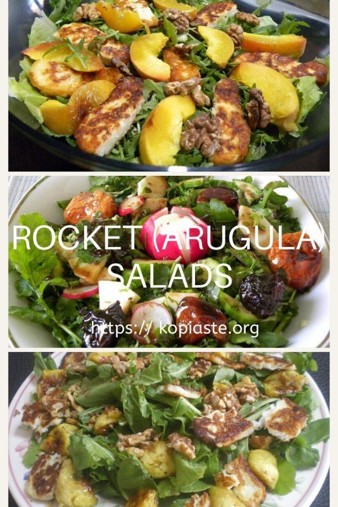 Collage Rocket salads image