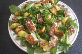 Rocket and fig salad picture