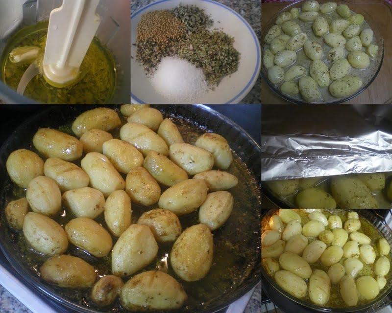 collage lemony potatoes image