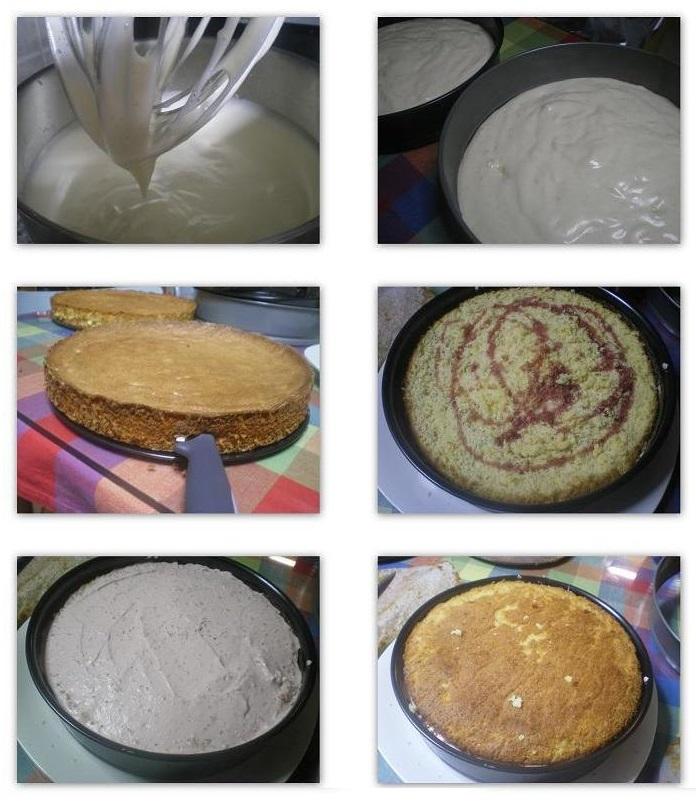 Collage 1 Making sponge image