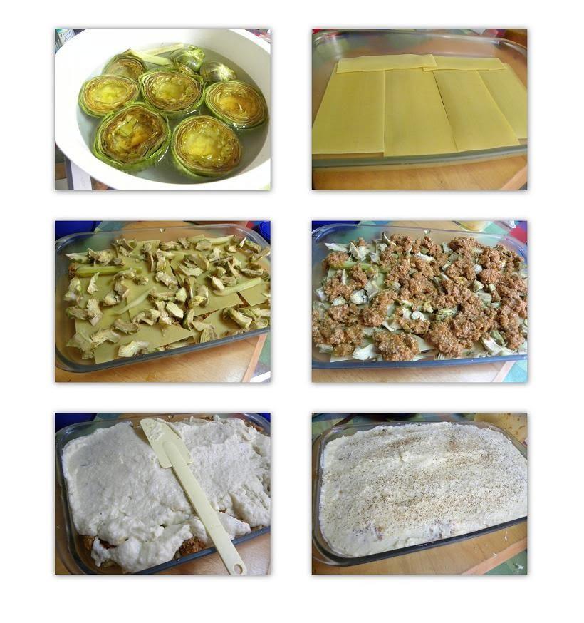 Collage Artichoke Lasagna - Pastitsio image