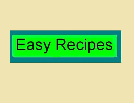 easy-recipes