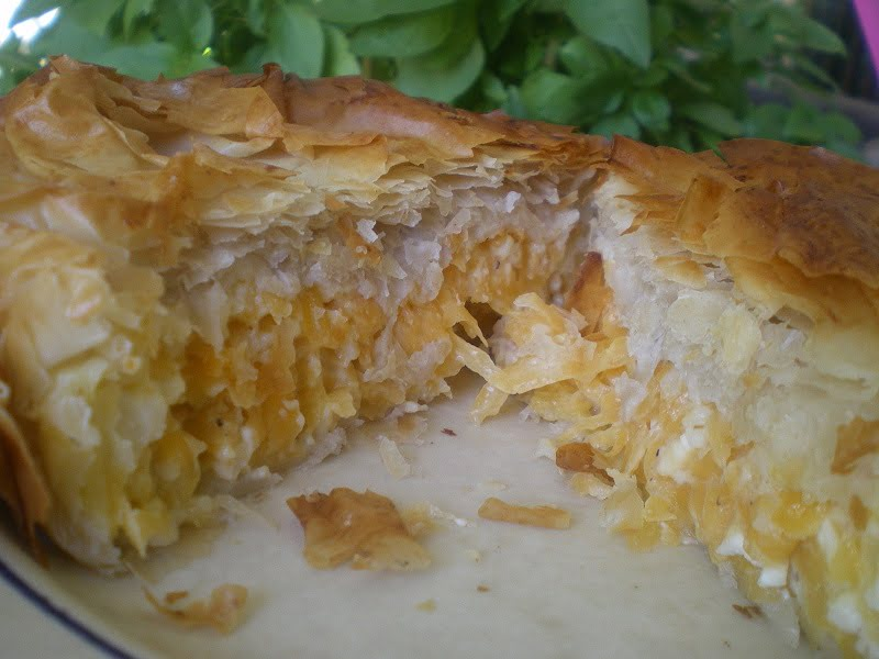 Pumpkin and Cheese pie image