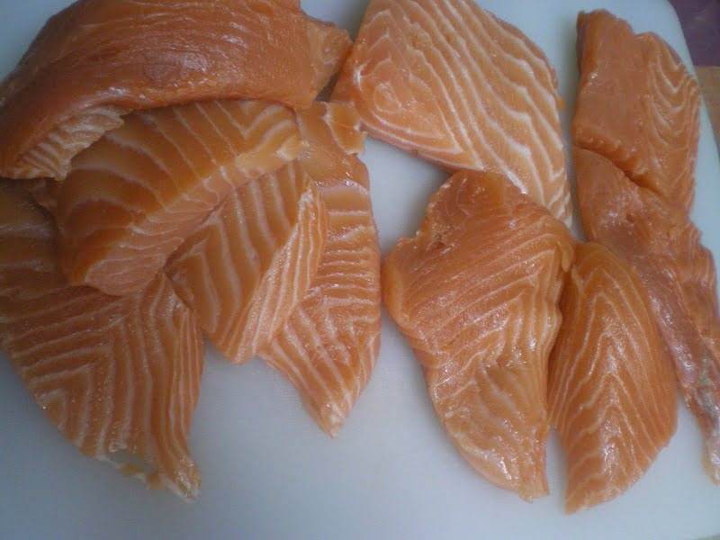 Salmon fillets image