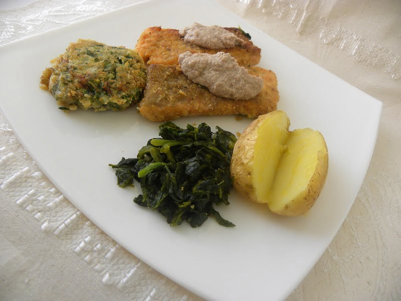 Salmon with Dill and Garlic photo