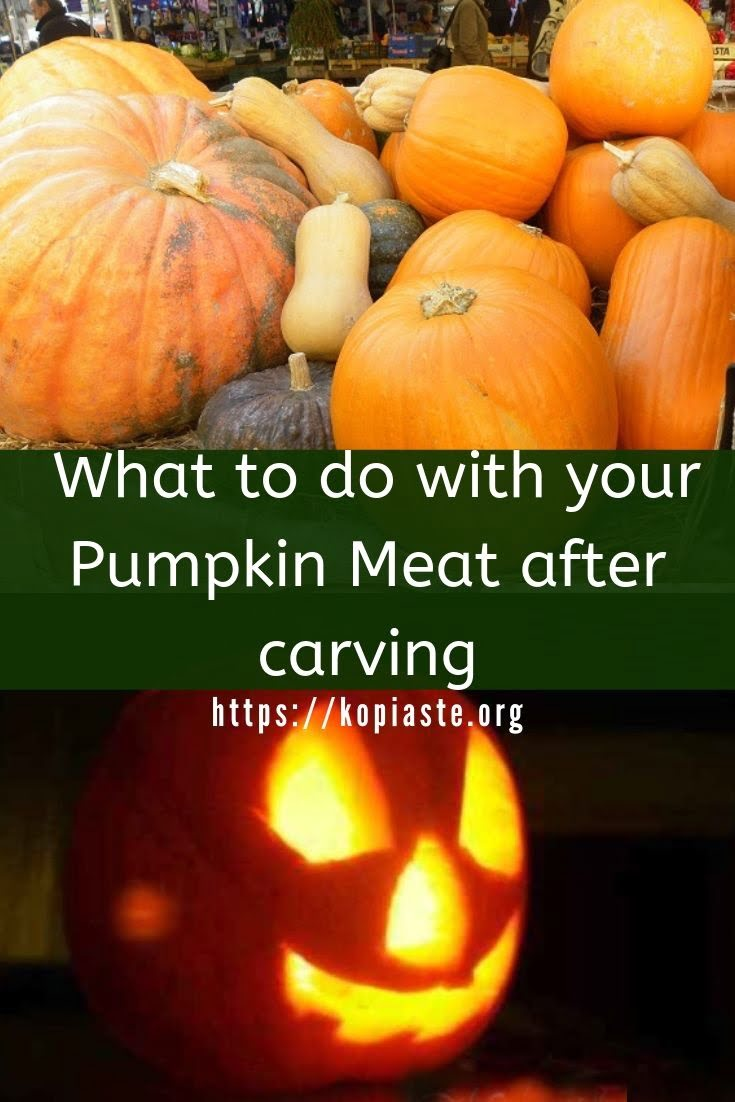 collage Carved pumpkin image