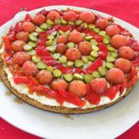 Dakos Savoury Greek Cheesecake