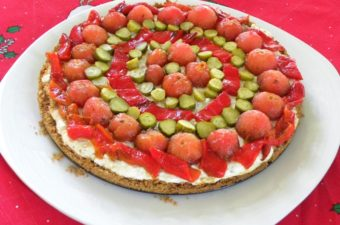 Dakos Greek cheesecake image