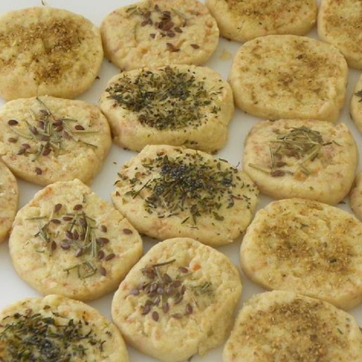 Tyrompiskota Halloumi Cookies picture