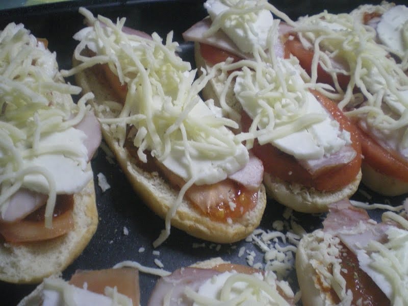 Pizza sandwiches image