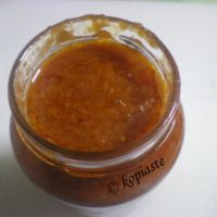 Homemade Easy Spicy Winter Tomato Sauce and How to preserve it